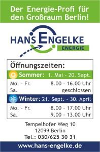 Engelke Visitenkarte Öffnungszeiten 09 2020
